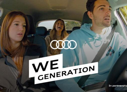 Audi We Generation- la rivoluzione per il futuro dell'umanità